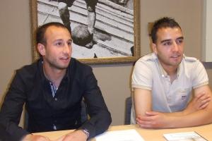 Mehmet Akgun en Said Boutahar